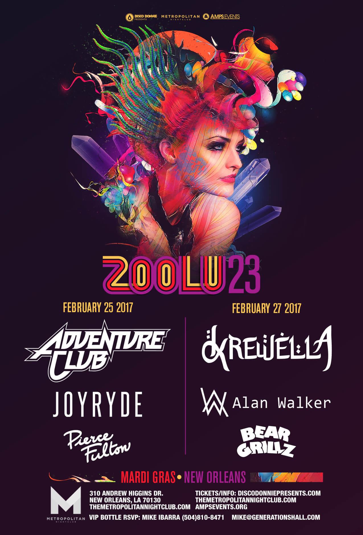 Zoolu 23 is Coming to The Metropolitan Nightclub in New Orleans!